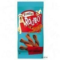 Frolic Rodeo - säästöpakkaus: nauta (3 x 105 g)