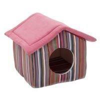 Funny Stripes -lemmikinmaja - P 50 x L 50 x K 42 cm