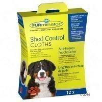 Furminator Shed Control -puhdistusliinat - 12 kpl