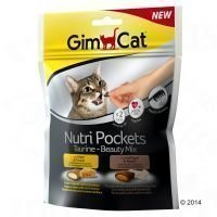 GimCat Nutri Pockets - Taurin-Beauty-Mix (3 x 150 g)