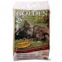 Golden Pine -mäntykissanhiekka - säästöpakkaus: 2 x 8 kg