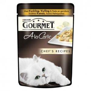 Gourmet A La Carte Kissanruoka 85 G Chef's Recipes Kanaa Lisänä Helmipastaa