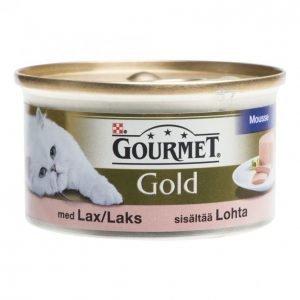 Gourmet Gold Kissanruoka 85 G Lohimousse
