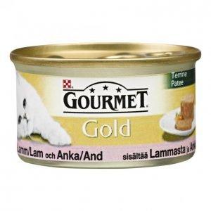 Gourmet Gold Kissanruoka 85g Lammas-Ankka Patee