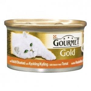 Gourmet Gold Kissanruoka 85g Nauta-Kana