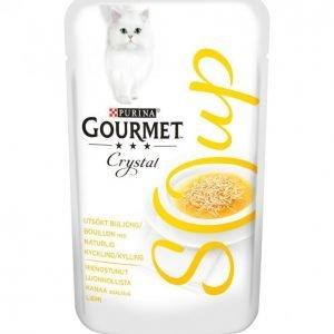 Gourmet Kissanruoka 40 G Crystal Soup Kana