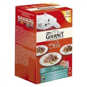 Gourmet Mon Petit Kissanruoka 6 X 50 G Duo Kalalajitelma