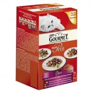 Gourmet Mon Petit Kissanruoka 6 X 50 G Duo Siipikarjalajitelma