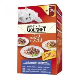 Gourmet Mon Petit Kissanruoka 6 X 50 G Kalalajitelma