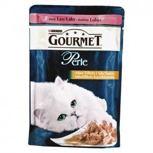 Gourmet Perle Kissanruoka 85 G Lohta Minifilets Kastikkeessa