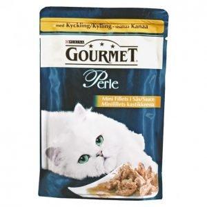 Gourmet Perle Kissanruoka 85 G Minifilets Kanaa Kastikkeessa
