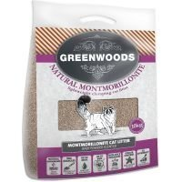 Greenwoods Light Weight -luonnonsavihiekka - säästöpakkaus: 2 x 10 kg