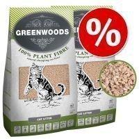 Greenwoods Plant Fibre -säästöpakkaus 2 x 30 l - 2 x 30 l