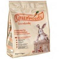 Greenwoods-kaninruoka - 2 x 3 kg