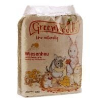 Greenwoods-niittyheinä 1 kg - voikukkaheinä