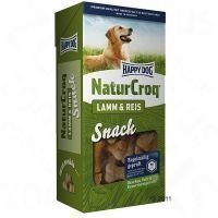 Happy Dog Natur Croq Snack Lamb & Rice - säästöpakkaus: 4 x 350 g