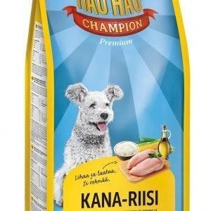 Hau-Hau Champion Kana-Riisi 15 Kg Täysravinto