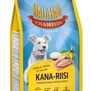 Hau-Hau Champion Kana-Riisi 2 Kg Koiran Täysravinto