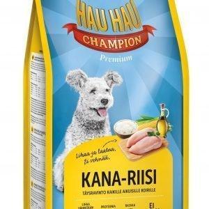 Hau-Hau Champion Kana-Riisi 6 Kg Koiran Täysravinto