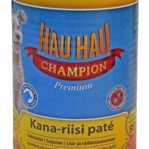 Hau-Hau Champion Kana-Riisi Pate 400 G Säilykeateria