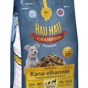 Hau-Hau Champion Kana-Vihannes 2 Kg Täysravinto