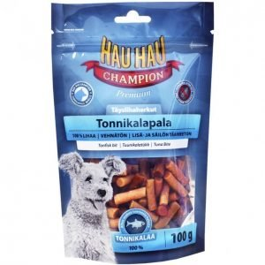 Hau-Hau Champion Koiran Tonnikalapala 100g Fresh Meat