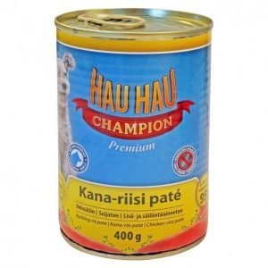 Hau-Hau Champion Koiranruoka 400g Herkkuhyytelö