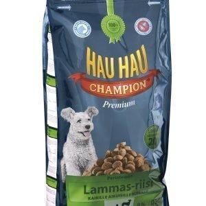 Hau-Hau Champion Lammas-Riisi 15 Kg Täysravinto