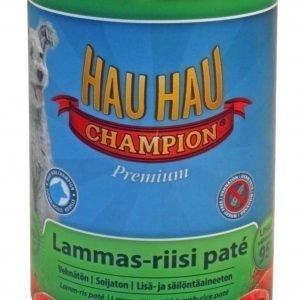 Hau-Hau Champion Lammas-Riisi Pate 400 G Säilykeateria