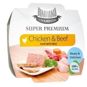 Hau-Hau Champion Super Premium Paté 100 G Täydennysravinto
