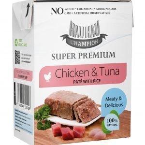 Hau-Hau Champion Super Premium Paté 375 G Täydennysravinto