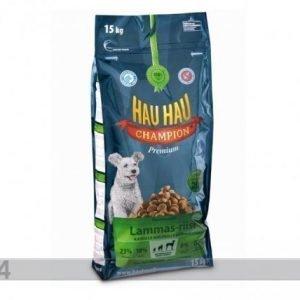 Hau-Hau Champion Täysravinto Lammas Ja Riisi Täyskasvaneelle Koiralle 15kg