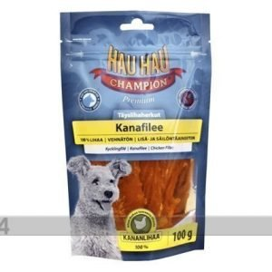 Hau-Hau Hhc Delikatess Kananfilee 100% 100g 2 Kpl
