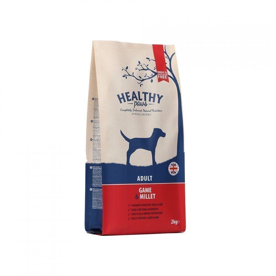 Healthy Paws Dog Adult Game & Millet 12 Kg