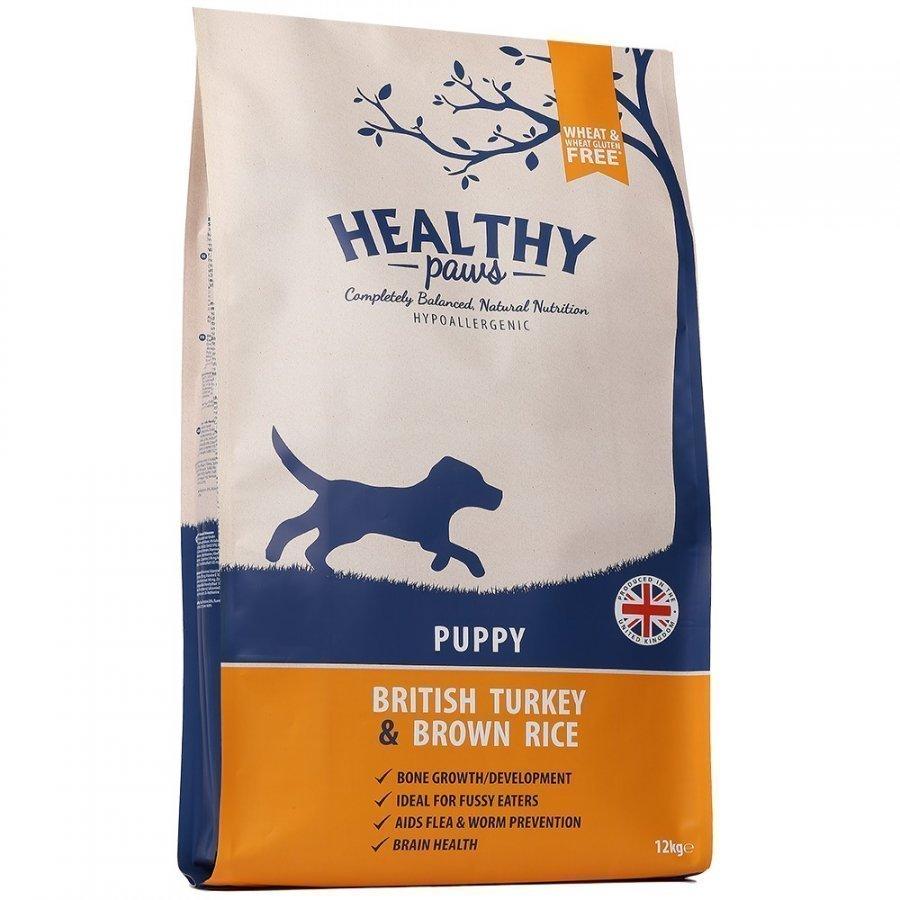 Healthy Paws Puppy British Turkey & Brown Rice 12 Kg