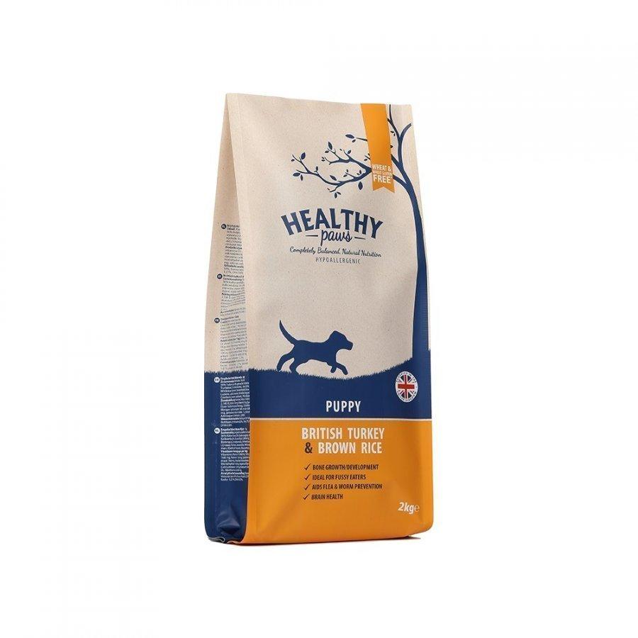 Healthy Paws Puppy British Turkey & Brown Rice 2 Kg
