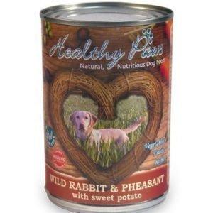 Healthy Paws Rabbit & Pheasant Purkki 6x400g