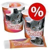 Herkkupaketti: Smilla Hearties + Toothies + juustotahna - 350 g