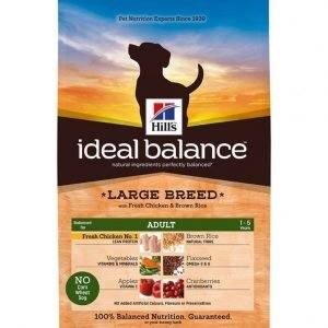 Hill's Ideal Balance Canine Adult Large Chicken 12 Kg