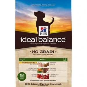 Hill's Ideal Balance Canine Adult Nograin Chicken 12 Kg