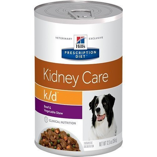 Hill's Prescription Diet Canine K / D Burkmat 12x370g
