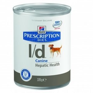 Hill's Prescription Diet Canine L / D Burkmat 12x370g