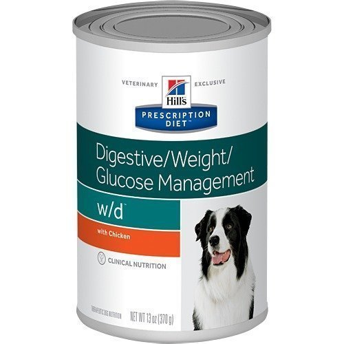 Hill's Prescription Diet Canine W / D Burkmat 12x370g