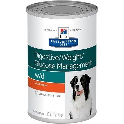 Hill's Prescription Diet Canine W / D Burkmat 12x370g