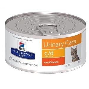 Hill's Prescription Diet Feline C / D Multicare Burkmat 24x156g