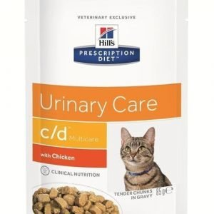 Hill's Prescription Diet Feline C / D Multicare Chicken 12x85g
