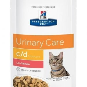 Hill's Prescription Diet Feline C / D Multicare Salmon 12x85g