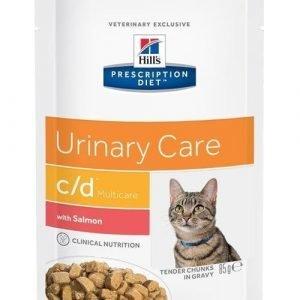 Hill's Prescription Diet Feline C / D Multicare Salmon 12x85g