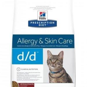 Hill's Prescription Diet Feline D / D Venison & Green Pea 1