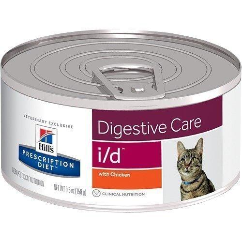 Hill's Prescription Diet Feline I / D Burkmat 24x156g